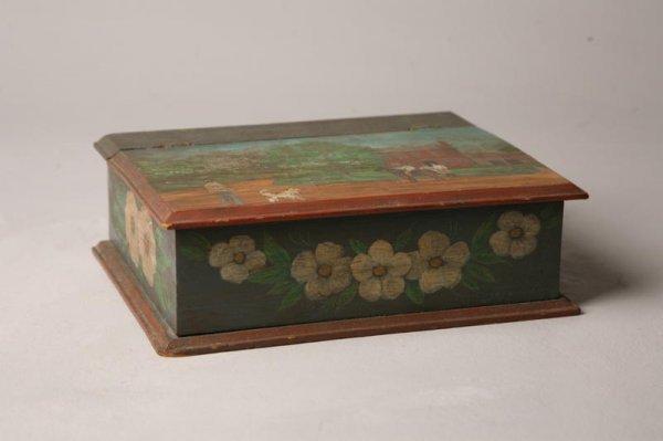 15: DECORATED BOX BY HUDNALL.