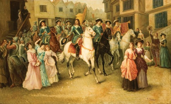 """4: HEROIC PARADE BY G. GORDON"""""""" (EARLY 20TH CENTURY)."""""""""""