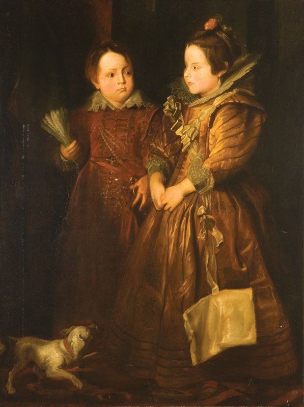 408: PORTRAIT OF CHILDREN, AFTER JAN VAN EYCK (FLEMISH,