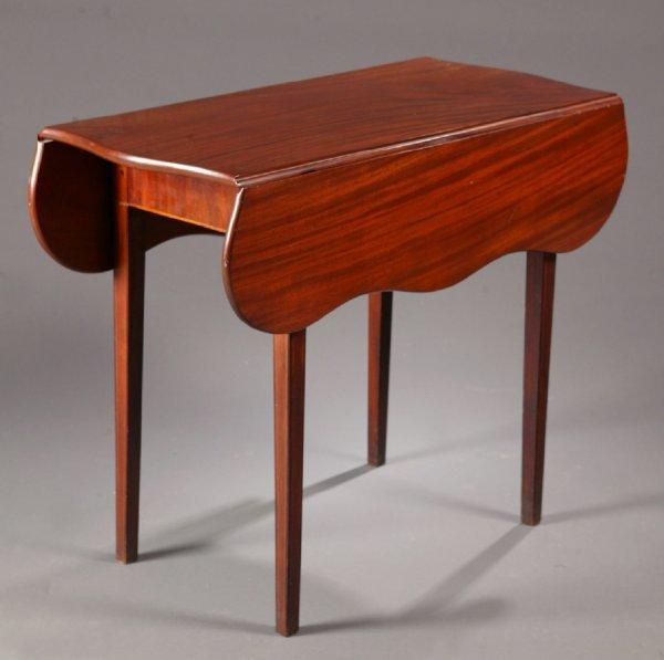 2422:  INLAID HEPPLEWHITE PEMBROKE TABLE.    American,