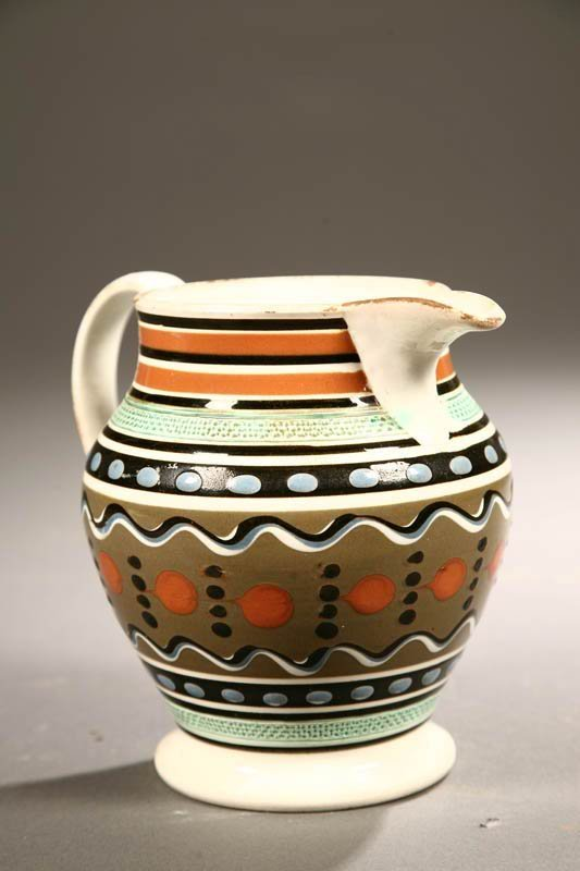 2010:  MOCHA PITCHER.    English, 1st quarter-19th cent