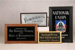 1523 FOUR SIGNS FOR PENNSYVLANIA INSURANCE COMPANIES