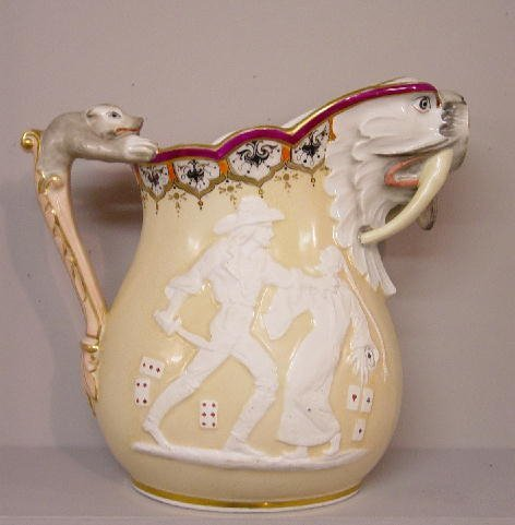141: FANTASTIC PITCHER BY UNION PORCELAIN WOR