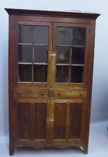496: ONE-PIECE  WALL CUPBOARD WITH PINWHEEL A