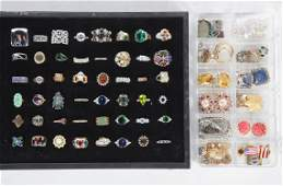 GROUP OF RINGS AND OTHER COSTUME JEWELRY