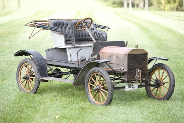 417: 1908 FORD MODEL S RUNABOUT.