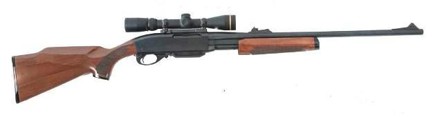 *REMINGTON ARMS MODEL 7600 .30-06 PUMP ACTION RIFLE