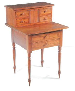 SHAKER SMALL DESK OR SEWING STAND.