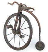 MINIATURE SALESMAN SAMPLE OF PENNY FARTHING BICYCLE