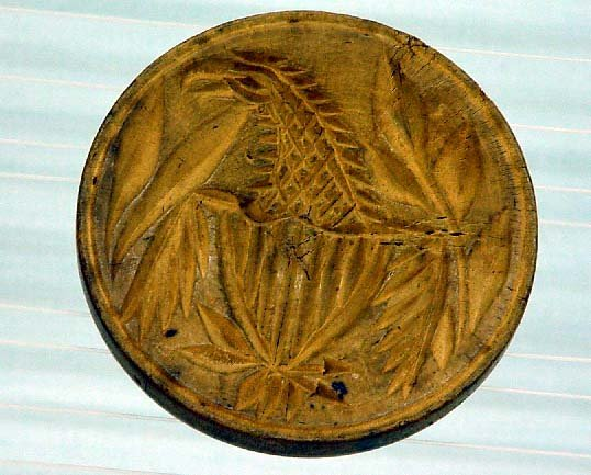17: BUTTERPRINT. Eagle with shield. One-piece