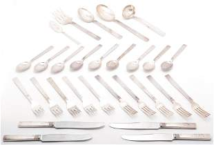 "SET OF NORWEGIAN ""STERLING"" FLATWARE."