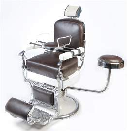 AMERICAN KOKEN BARBER CHAIR.
