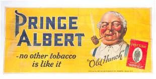 "AMERICAN ""PRINCE ALBERT"" ADVERTISING SIGN."