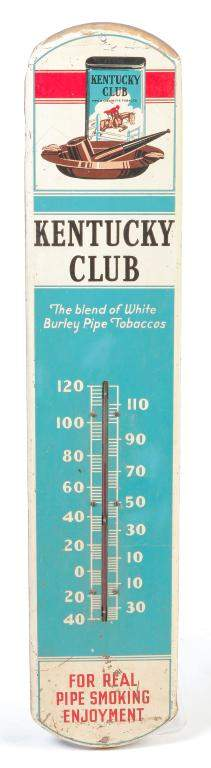 """AMERICAN """"KENTUCKY CLUB"""" THERMOMETER."""