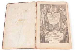 1642 DE HUMANI CORPO BY ANDREAE VESALII.