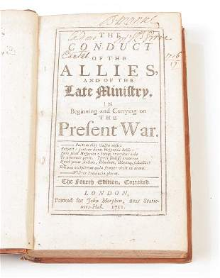 THE CONDUCT OF THE ALLIES AND OF THE LATE MINISTRY