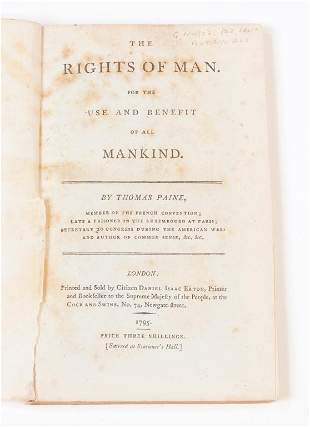 THE RIGHTS OF MAN BY THOMAS PAINE.