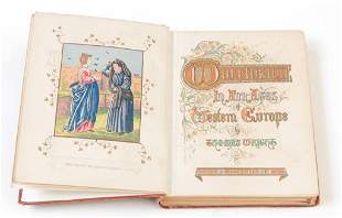 1869 WOMANKIND IN WESTERN EUROPE BY THOMAS WRIGHT.