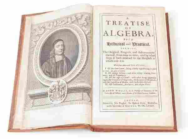 A TREATISE OF ALGEBRA, JOHN WALLIS (1685).