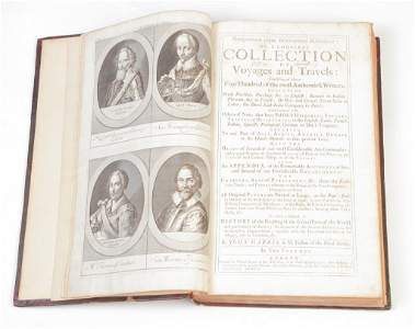 """""""A COMPLEAT COLLECTION OF VOYAGES..."""" BY HARRIS."""