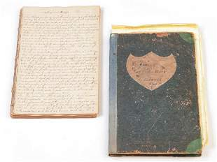 AMERICAN LEDGER AND SHIP'S DAYBOOK.