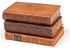 THREE BOOKS ON MATHEMATICS