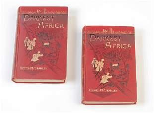 IN DARKEST AFRICA BY HENRY M. STANLEY.