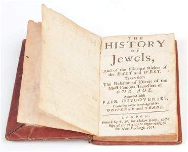 """""""THE HISTORY OF JEWELS..."""" BY SAMUEL CHAPPUZEAU."""