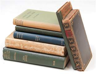 SEVEN BOOKS INCLUDING GREEK PROSE AND POETRY.