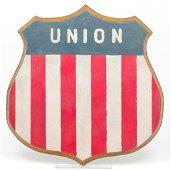 "AMERICAN ""UNION"" PATRIOTIC SHIELD."