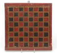 AMERICAN DECORATED GAME BOARD.