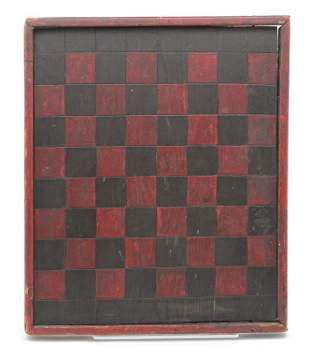 AMERICAN DECORATED GAMEBOARD.