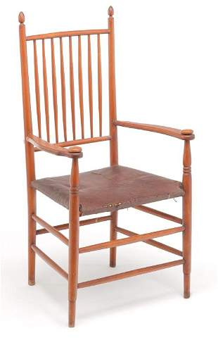 AMERICAN BROTHER GREGORY SHAKER ARMCHAIR.