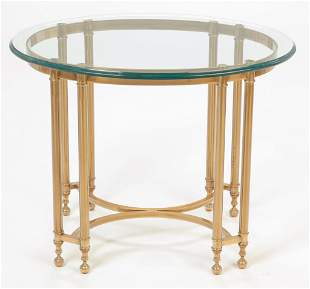 AMERICAN CONTEMPORARY OCCASIONAL TABLE.
