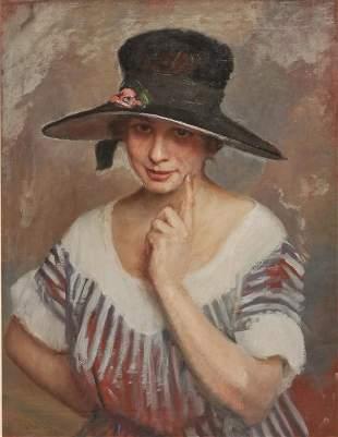 PORTRAIT OF A WOMAN BY GIOVANNI BOLDINI.