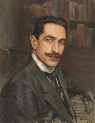 PORTRAIT OF A MAN BY GIOVANNI BOLDINI.