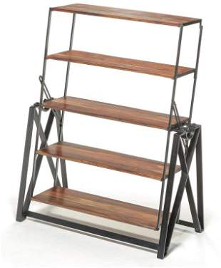 AMERICAN INDUSTRIAL STYLE CONVERSION SHELVES.