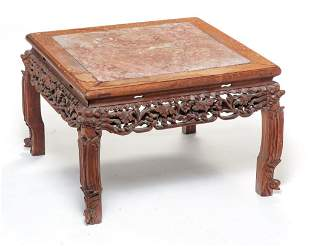 CHINESE CARVED STAND.
