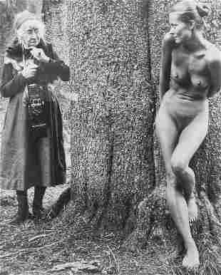 IMOGEN AND TWINKA AT YOSEMITE BY JUDY DATER.