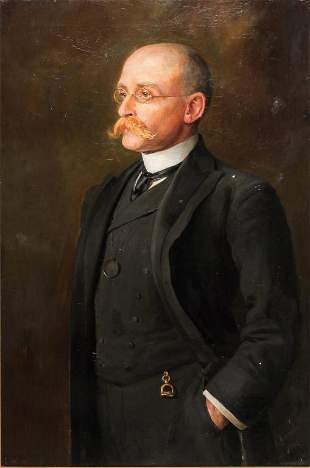 PORTRAIT ATTRIBUTED TO JOHN NELSON ARNOLD.