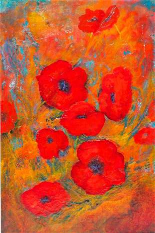 POPPIES BY DONNA K. ROGERS.