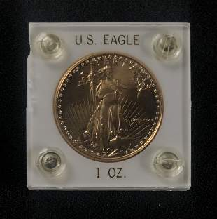 1986 AMERICAN EAGLE ONE OUNCE GOLD COIN