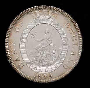 1804 GEORGE III BANK OF ENGLAND FIVE SHILLINGS