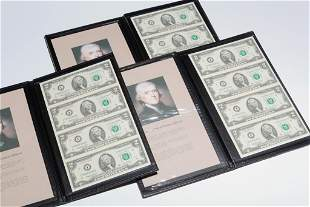 THREE WORLD RESERVE $2 UNCUT SHEETS