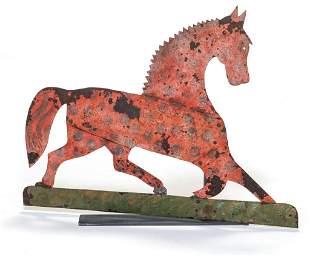 AMERICAN HORSE WEATHERVANE.