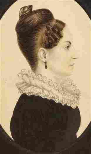 AMERICAN PORTRAIT OF A WOMAN.