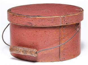 AMERICAN BENTWOOD CARRIER BOX.