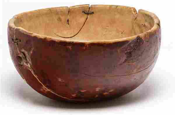 AMERICAN WOODEN BOWL.