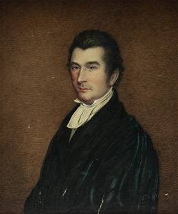 PORTRAIT OF A MINISTER.