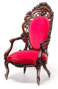 TUTTHILL STYLE ARMCHAIR ATTRIBUTED TO BELTER.